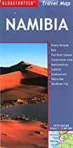 Namibia Travel Map (Globetrotter Travel Map)
