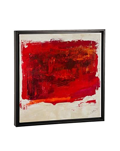 Julian Spencer Red Study Canvas Print