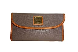Dooney & Bourke Woman Pebble Continental Clutch (Elephant)