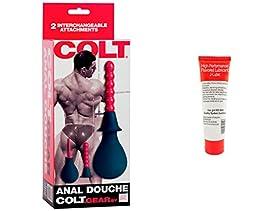 Bundle-2 Items: Colt Anal Douche, 12 ml Jlube JI-X