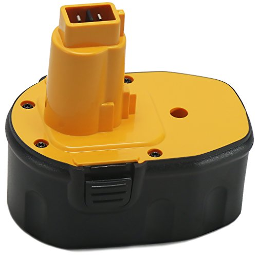POWERAXIS 14.4V 2.0Ah NI-CD Extended Run-time Battery Replacement for Dewalt DC DW XRP Series Dewalt DC9091 DW9091 DW9094 DW9094 DC9091 DE9038 DE9091 DE9092 DC Series Power Tool(Yellow and Black) (Grinder Plans compare prices)