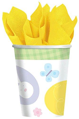 Amscam Extravaganza Paper Cups, 8 Per Package, 9 oz, Multicolor - 1