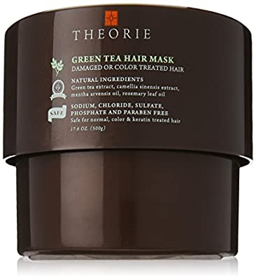 Theorie Green Tea Energizing Hair Mask, 500ml
