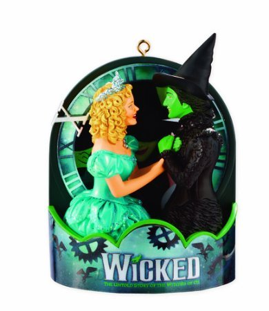 Carlton Heirloom Magic Ornament 2013 Wicked - 10th Anniversary Edition - #CXOR050D