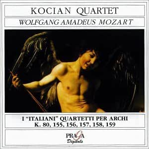 Kocian Quartet perform Mozart: 6 Early String Quartets (1770-1773)