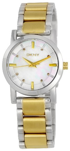 DKNY Women's NY4521 Crystal Mother-Of-Pearl Dial Watch