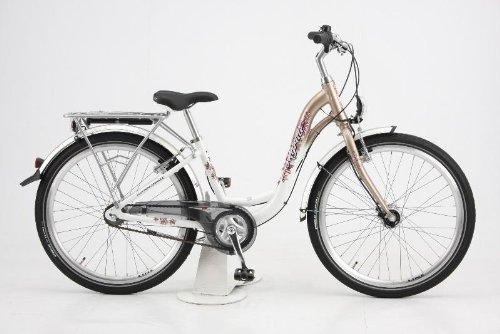 Puky Bicyclette / Vélo - Skyride 24-3 alu : Blanc / Argent
