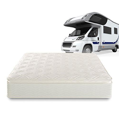 Sleep Master Deluxe Spring 10 Inch Pillow Top RV / Camper / Trailer / Truck Mattress, Short Queen (Rv Pillow Top Mattress compare prices)