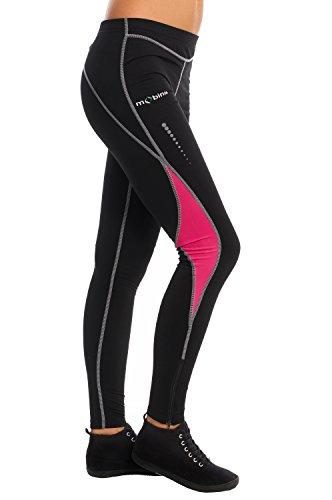 Asics Essential Herren Winter Laufhose Jogginghose Hose Sport Tight Schwarz