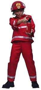 Cesar - C020-004 - Déguisement - Pompier Rouge - 10 à 12 ans