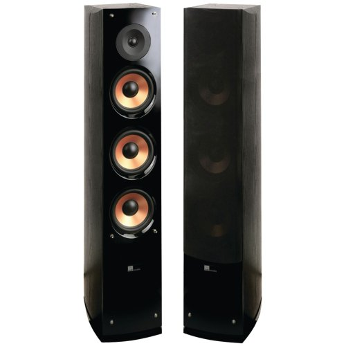 Pure Acoustics SUPERNOVA8-F 2-Way 6.5-Inch Supernova Series Tower Speaker with Lacquer
