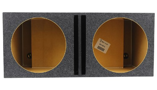 "Rockville Rdvb15 Dual 15"" Vented Sub Enclosure Box W/Center Divider 2.4 Cu Ft"