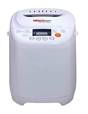 Nesco White Bread Maker, 12 Program Automatic from Nesco