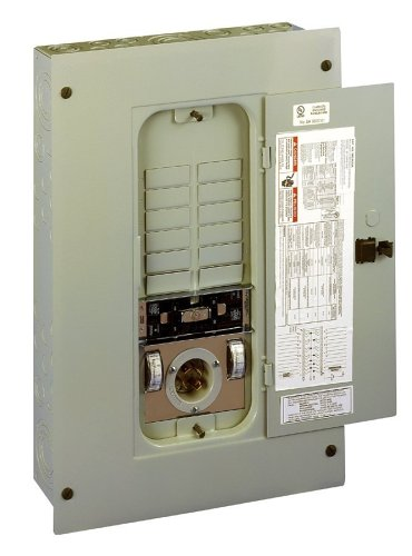 Reliance Controls TRC1005A Panel/Link 12-Circuit 100 Amp Utility/50 Amp Generator Transfer Switch For Up To 12,500-Watt Generators