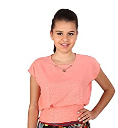 Vteens Coral Casual Top (vt1522-S_Pink_Small)