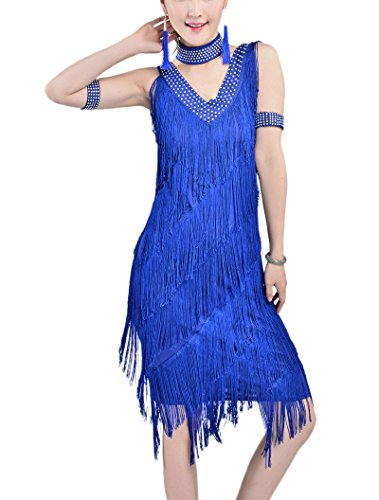 Whitewed-20s-great-gatsby-style-beaded-vintage-halloween-party-clothes-dress-xl