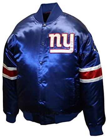 NFL Mens New York Giants Prime Satin Jacket by MTC Marketing, Inc