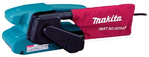 Makita 9911 5.6 Amp 3-Inch by 18-Inch Variable Speed Belt Sander with Cloth Dust Bag
