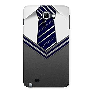 Grey Uniform Back Case Cover for Galaxy Note
