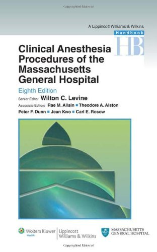 Clinical Anesthesia Procedures of the Massachusetts...