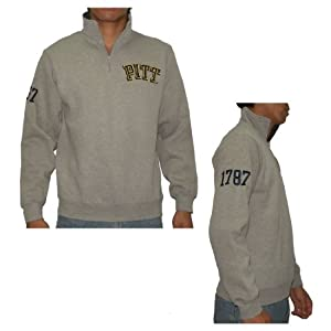 NCAA Pittsburgh Panthers Mens Sweatshirt with Embroidered Logo by NCAA