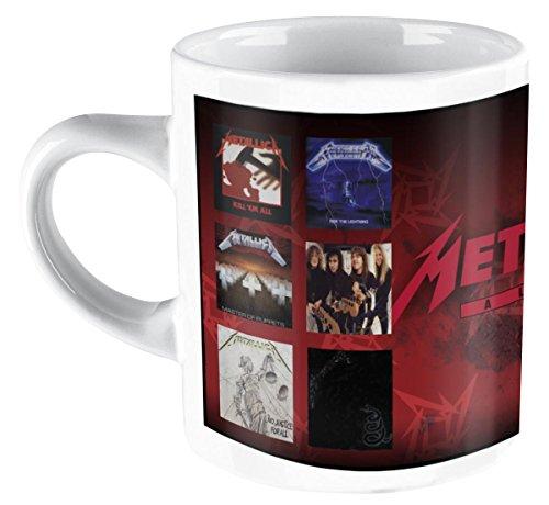Metallica - Tazza con copertine album dei Metallica