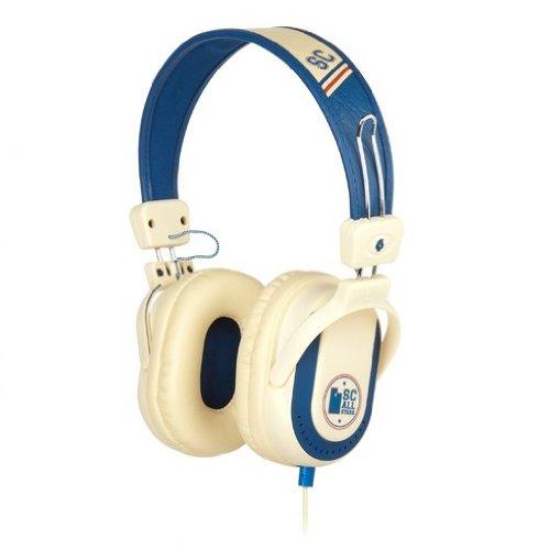 Skullcandy Agent Retro Hoops Over-Ear Headphones -Navy Blue