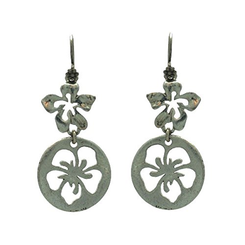 barilla-silver-tone-hook-earrings
