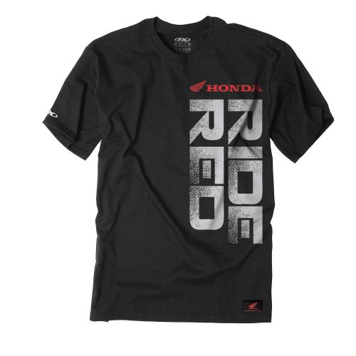 Factory Effex Honda 'Ride Red' Vert TShirt (Black, Large) Picture