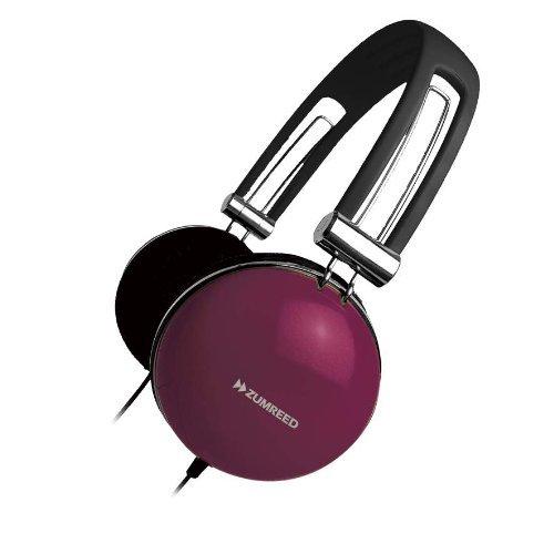 Zumreed Retro Style Over-The-Ear Headphones Berry (Zum-80296)
