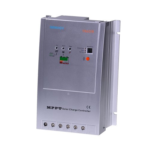 Renogy Tracer 4210 40 Amp MPPT Charge Controller, 12/24V 100VDC Input (Solar Panel Voltage Controler compare prices)