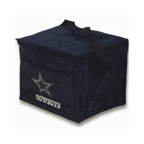 Dallas Cowboys Insulated 6 Pack Cooler / Lunch Tote (Cowboys Cooler Tote compare prices)
