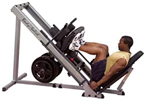 Amazon.com : Body-Solid Leg Press & Hack Squat : Sports & Outdoors