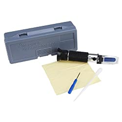 Beer Wort and Wine Refractometer, Brix Scale (0~32% Brix)