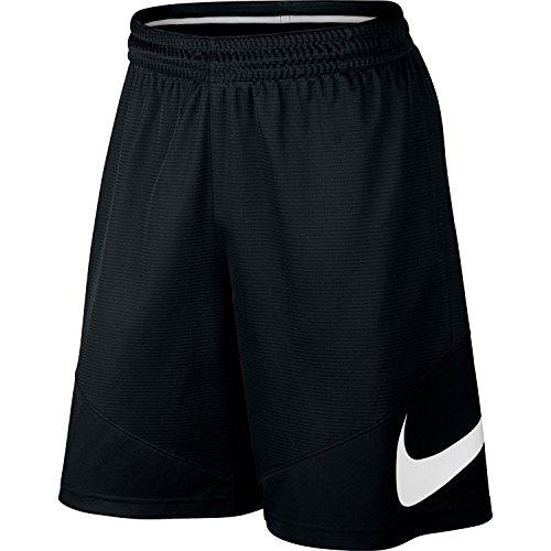 Nike Hbr Short-Pantaloncini corti da uomo, UOMO, Hbr Short, nero/bianco, L