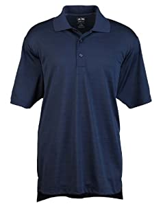 Adidas Golf A161 ClimaLite Textured S-Sleeve Polo - Navy - XL