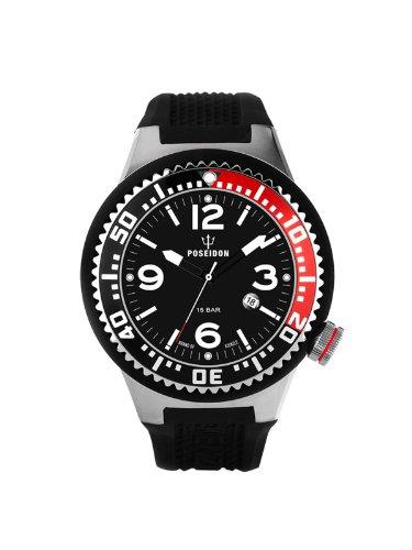 Kienzle K2103013053-00416 - Reloj analógico de cuarzo unisex con correa de silicona, color negro
