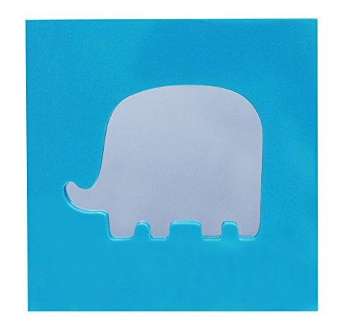 Wall Art Mirror in Elephant Design - 1