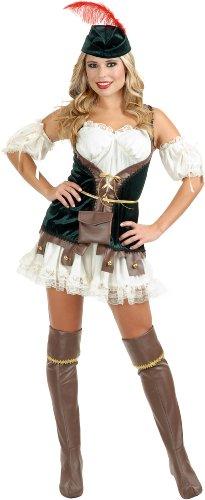 [Robin Hood Honey Adult Costume Size Large] (Robin Corset Costume)