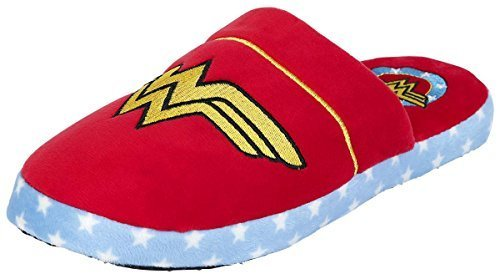 Wonder Woman Logo Pantofole multicolore - Donna, multicolore, Misura unica