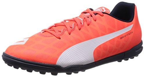 Puma - Evospeed 5.4 Tt, Scarpe Da Calcio da uomo, Arancione (Orange (lava blast-white-total eclipse 01)), 39