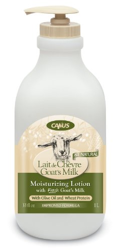 Canus Goat's Milk Natural Olive Oil and Wheat