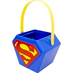 Superman Halloween Candy Pail