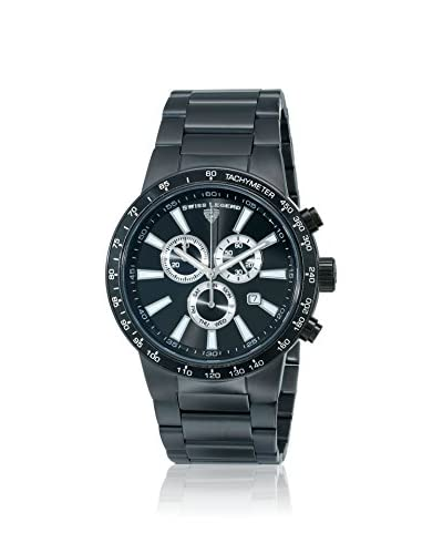 Swiss Legend Men's 10057-BB-11 Endurance Collection Black Stainless Steel Watch