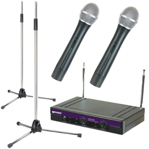 kam all rounder 2 wireless microphone set 175 173 8 mhz. Black Bedroom Furniture Sets. Home Design Ideas