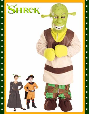 Shrek Deluxe Costume Size Child's Large 12-14 Age 8-10 - Buy Shrek Deluxe Costume Size Child's Large 12-14 Age 8-10 - Purchase Shrek Deluxe Costume Size Child's Large 12-14 Age 8-10 (BlockBusterClearance.com, Toys & Games,Categories)