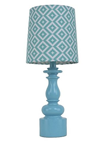 xhilaration-turned-table-lamp-with-diamond-shade-tableaux-turquoise