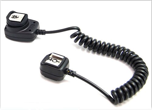 Cowboystudio E-ttl Off-Camera Flash Sync Cord for Canon EOS Cameras & Speedlight Flashes (Canon Oc-e3 Equivalent)