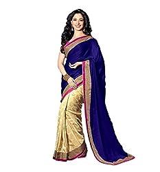 Krishna Emporia Blue Bollywood Designer Saree