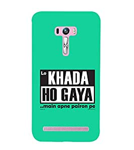 printtech Funny Naughty Quotes Back Case Cover for Asus Zenfone Selfie::Asus Zenfone Selfie ZD551KL